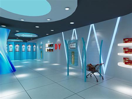 电子产品展示设计